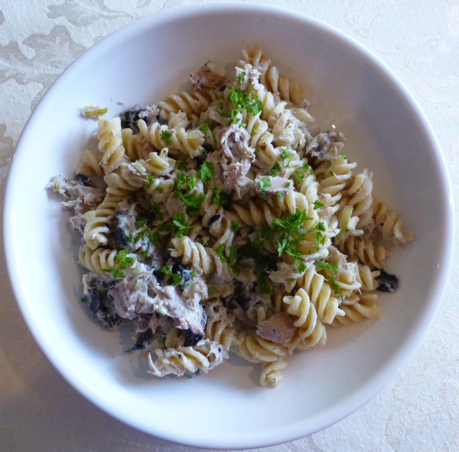 Teacher 39 s recipes recipe tuna philly pasta frugal Tuna and philadelphia pasta