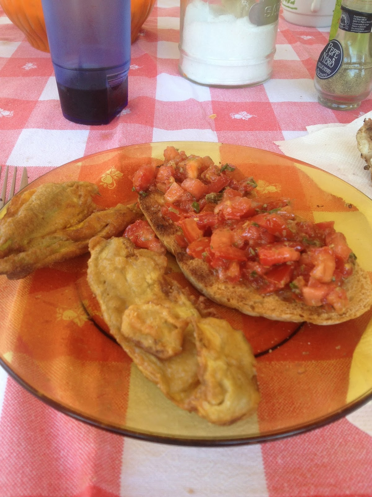 Recetas de yohis flores de calabaza fritas della nonna - Cocinar calabaza frita ...
