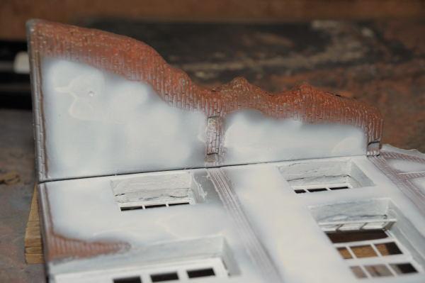Histoire en photos de maquettes et dioramas 1 35 me for Decoller du crepis interieur