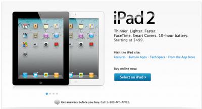 Harga iPad 2 spesifikasi dan fitur