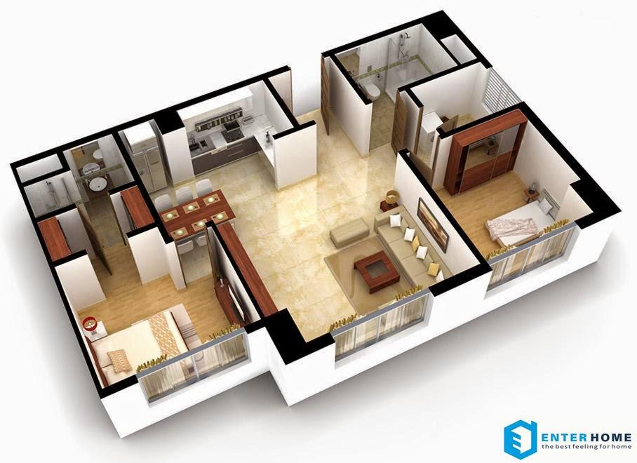 Thiết kế nội thất tòa nhà chung cư