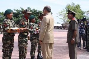 Timor-Leste: 645 NOVOS MEMBROS NAS F-FDTL