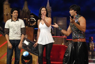 Katrina on the sets of Oye It's Friday Pictures
