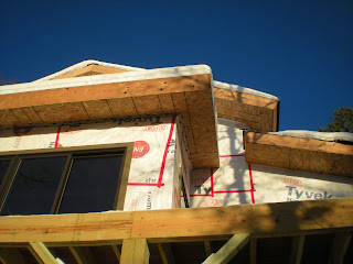 Minnesota, blue sky, huisman, custom home.