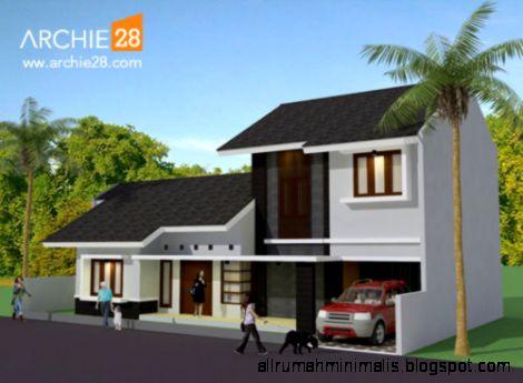 Desain Rumah Tinggal Minimalis Modern – Sariwangi  Bandung