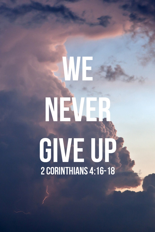 bible quotes about giving up quotesgram