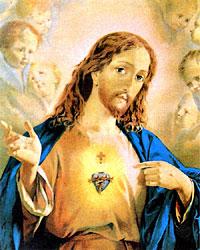O CORAÇAO DE JESUS AO MUNDO