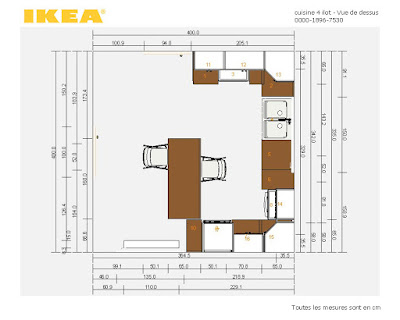 Reportage transformation cuisine Plan 3D Ikea planner
