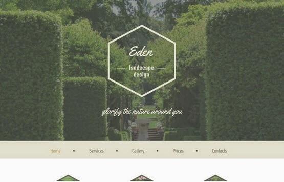 Eden Html5 Theme