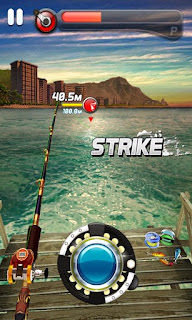 Screenshots of the Ace Fishing: Wild Catch for Android tablet, phone.