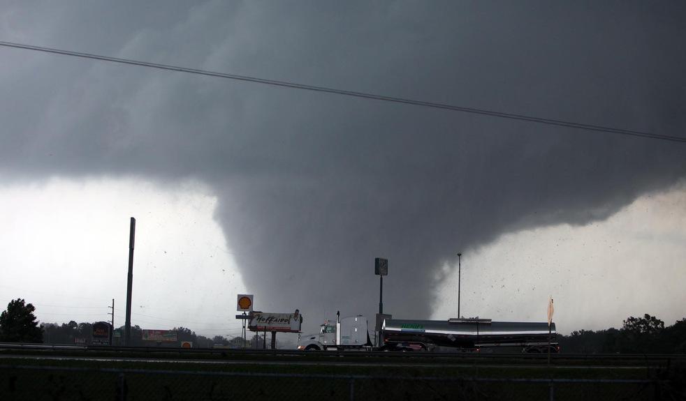 alabama tornado. (also an Alabama graduate)
