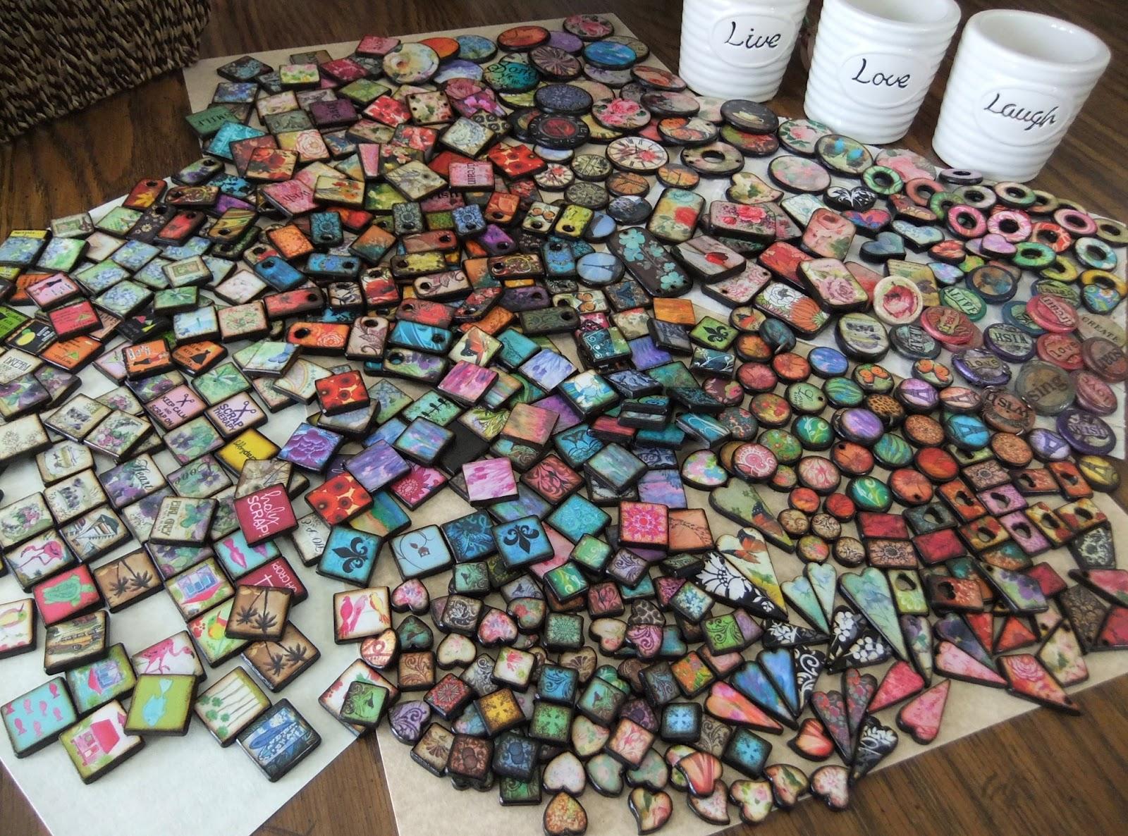 JLynn Jewels New Embossed Wood ART Tiles
