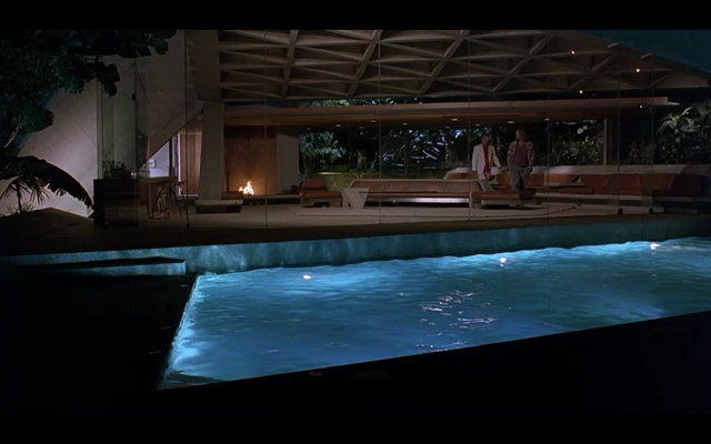 John Lautner architecture, movies, Lautner's houses in movies