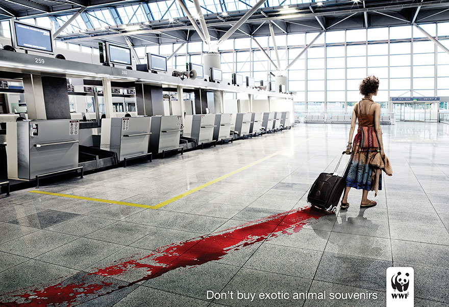 Don't Buy Exotic Animal Souvenirs -WWF