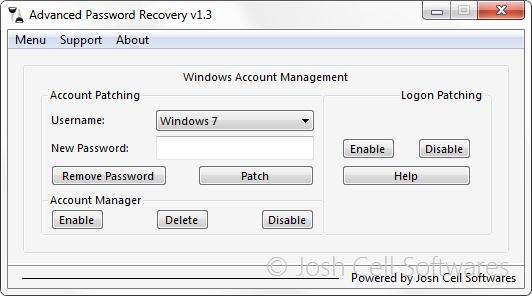 Advanced Password Recovery screenshot