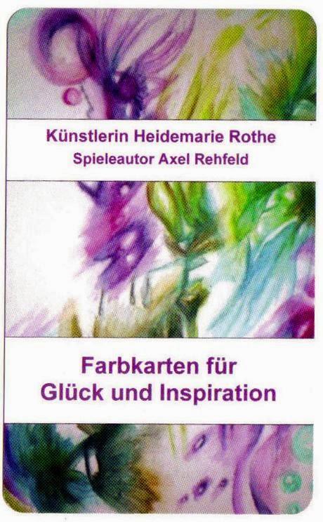 Farbkarten für Glück und Inspiration