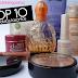 Papo de blogueiras: Top 10 produtos favoritos