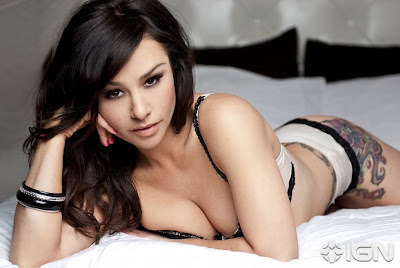 Hot Danielle Harris Bikini Photoshoot