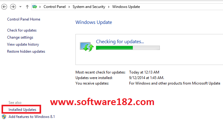 Cara Uninstall Windows Updates