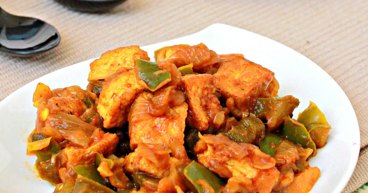 Aromatic Cooking: Capsicum Tofu