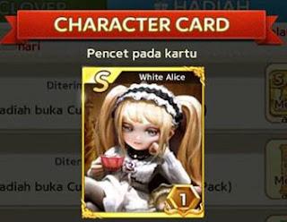 Trik LGR Cara Mendapatkan Kartu White Alice S Terbaru Get Rich cover
