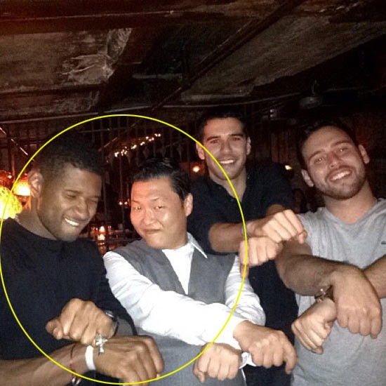 Filebook meet my new found friend usher psy a video of international singer usher alongside kpop star and now world famous star psy was uploaded all over the internet and spreading like a wild fire m4hsunfo
