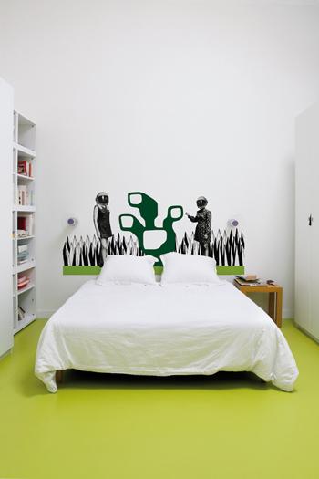 Decorando dormitorios originales vinilos para decorar tu for Vinilos para dormitorios