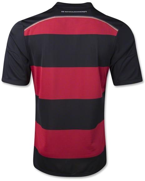Jersey Grade Ori Jerman Away Kit Official World Cup Jersey 2014 - Brazil