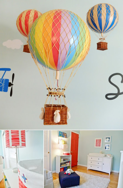 Balloon Zilla Pic Hot Air Balloon Nursery