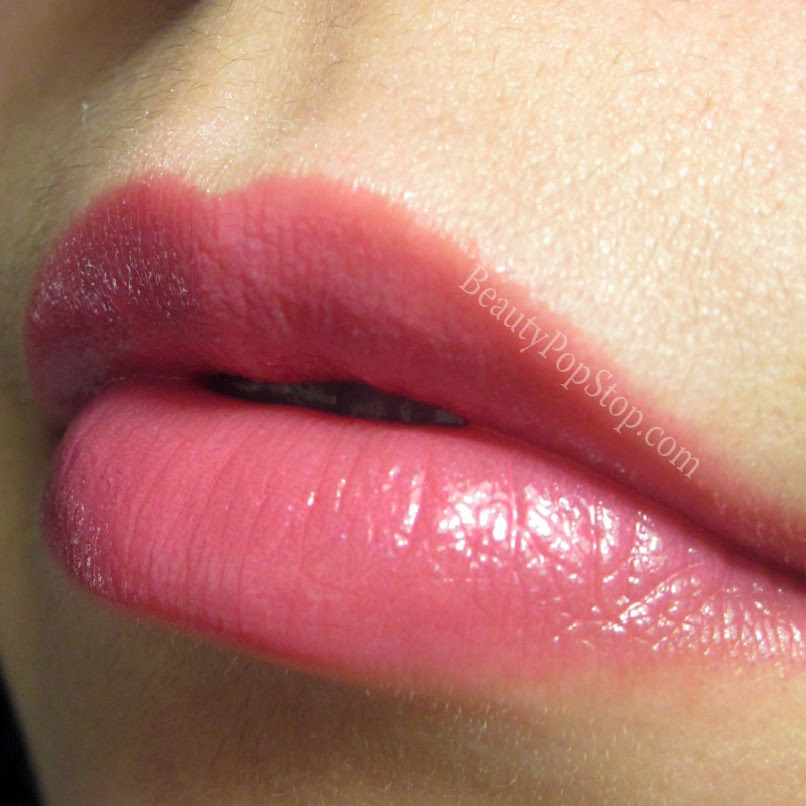 mac patentpolish lip pencil Fearless swatch and review
