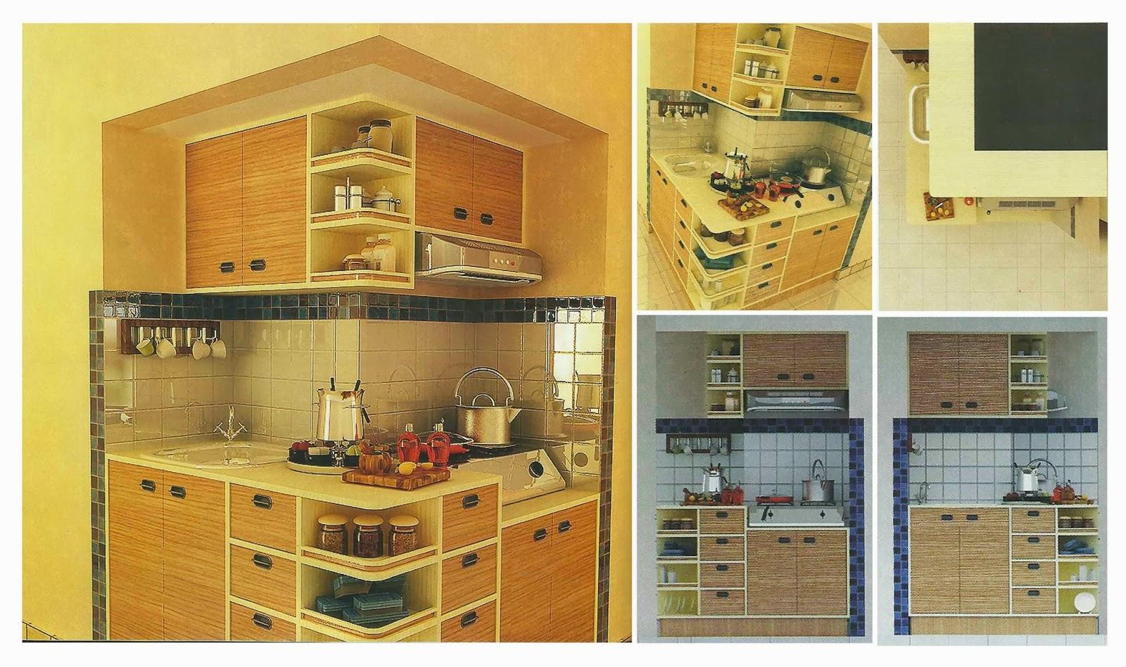Jasa Desain Rumah Interior Dan Borongan Kitchen Set Natural