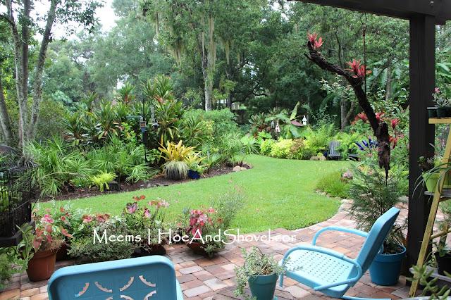 September 2015; Part Of The Back Garden From The Pergola