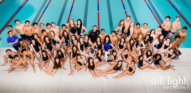 high school swim team hillsdale san mateo still light studios burlingame bay area