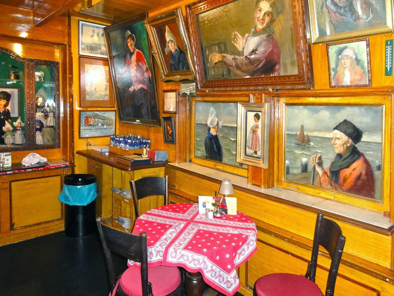 BZN had to have a band name - Volendam - Hotel Spaander interior