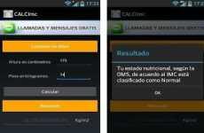 Calculadora de Indice de Masa Corporal (IMC) para Android: CalcImc