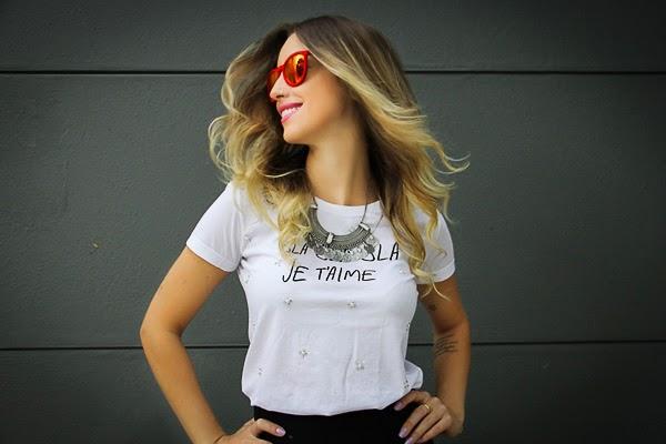 Camiseta Bla Bla Bla da Mony Mony