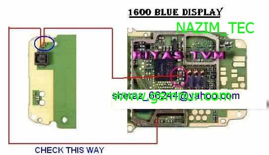 Nokia 1600 Display Light: Nokia 1600 Display Problem Display Jumpers Display Solutions Display Ways Display  Light White Screen. Nokia 1600 Blue Lcd Problem Blue Display Problem Lcd ...,Lighting