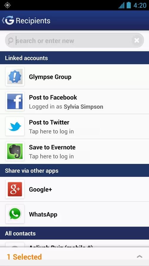 Glympse v2.12