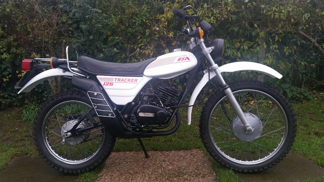 BSA 125 Tracker Restoration