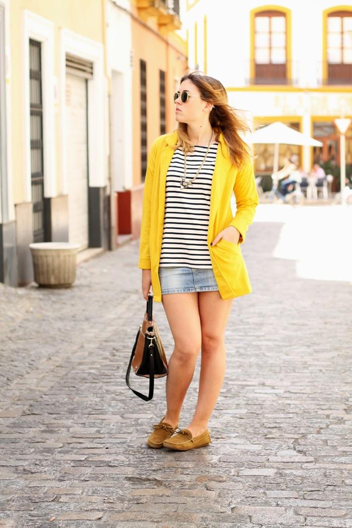 toks yellow blazer