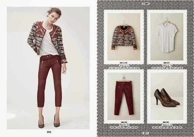 Isabel Marant Pour H&M Collection, Isabel Marant Price List, isabel marant, price list, fashion, clothing, accessories, women clothes