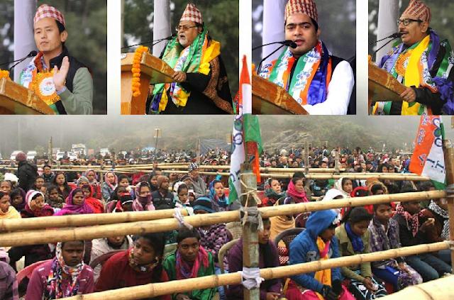 Trinamul Congress TMC election campaign Mirik