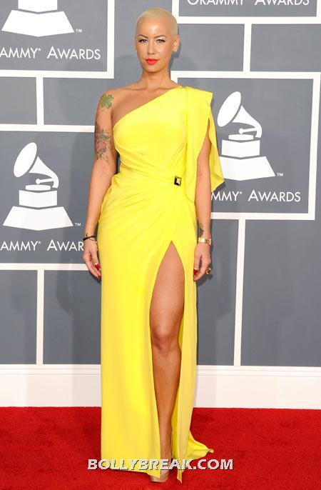 Amber Rose - (10) - Celebrity Pictures in Neon Dresses - Bollywood, Hollywood