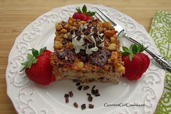 Coffee Cake with Strawberries