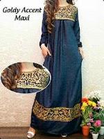Baju Muslim Gamis Goldy GC2189 HABIS