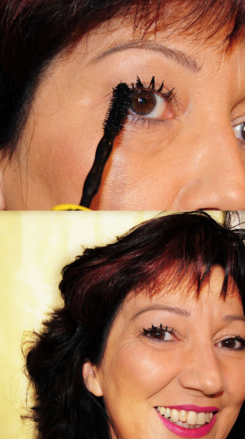 Tragefoto Chaotic-Wimpern mit der neuen Maybelline Mascara