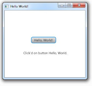 Hello World JavaFX 2.0