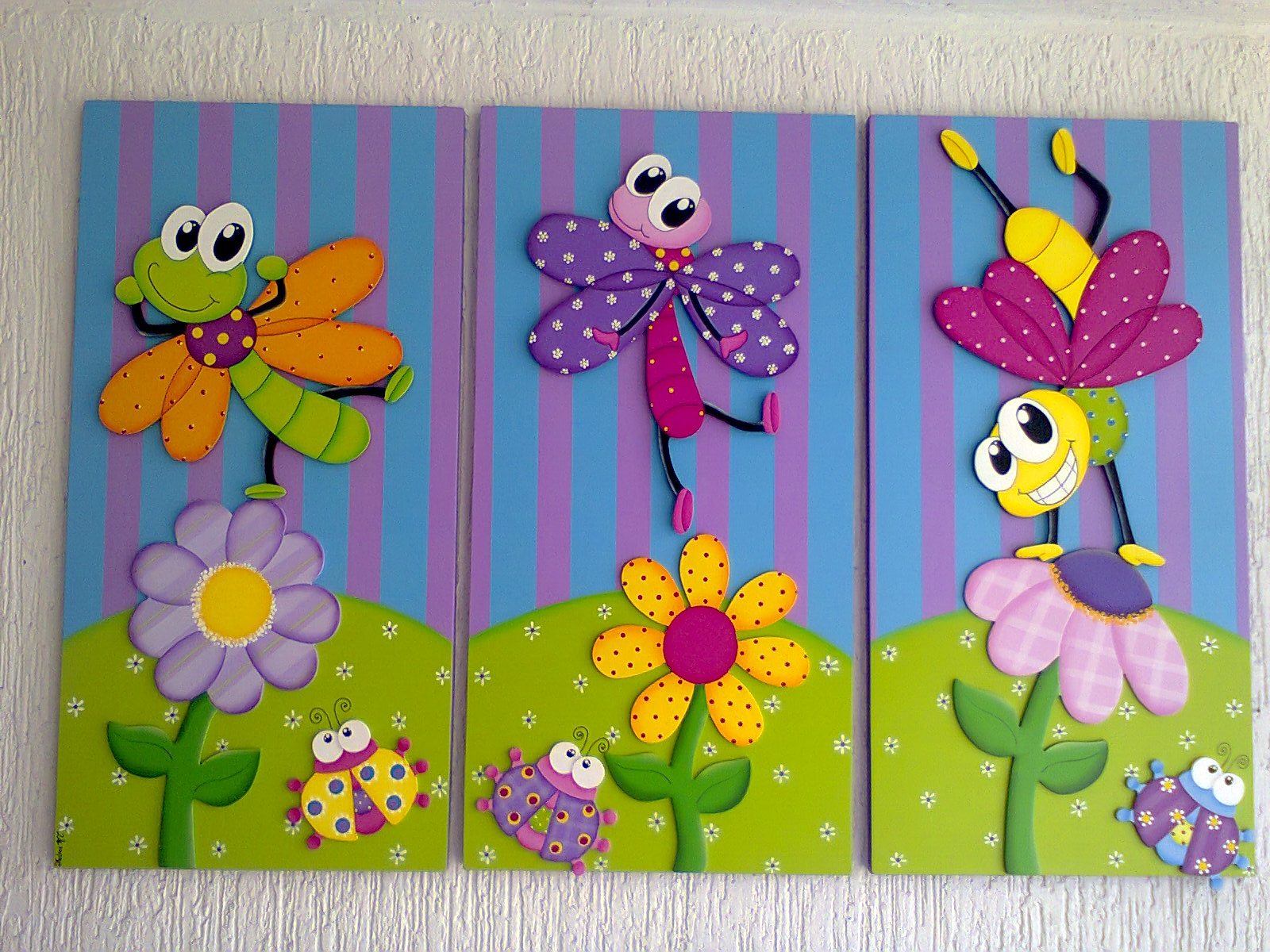 Aventuras country cuadros infantiles for Pinturas para decorar