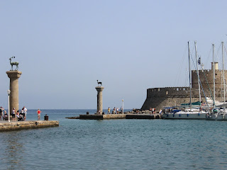Rhodes Island - Harbour of Mandraki - Greece