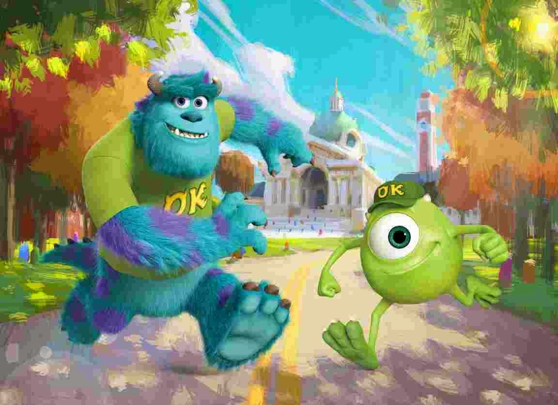 Wallpaper iphone monster university -  Monsters University Beautiful Hd Wallpapers All Hd Wallpapers